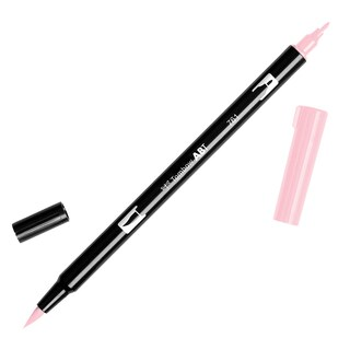 Tombow Dual Brush Marker Open Stock-761 Carnation Red
