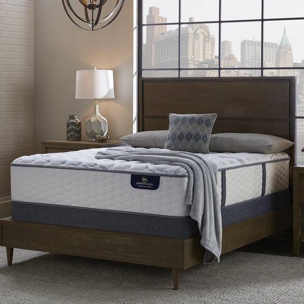 Serta Perfect Sleeper Glitter Light Full-size Luxury Firm Mattress Set