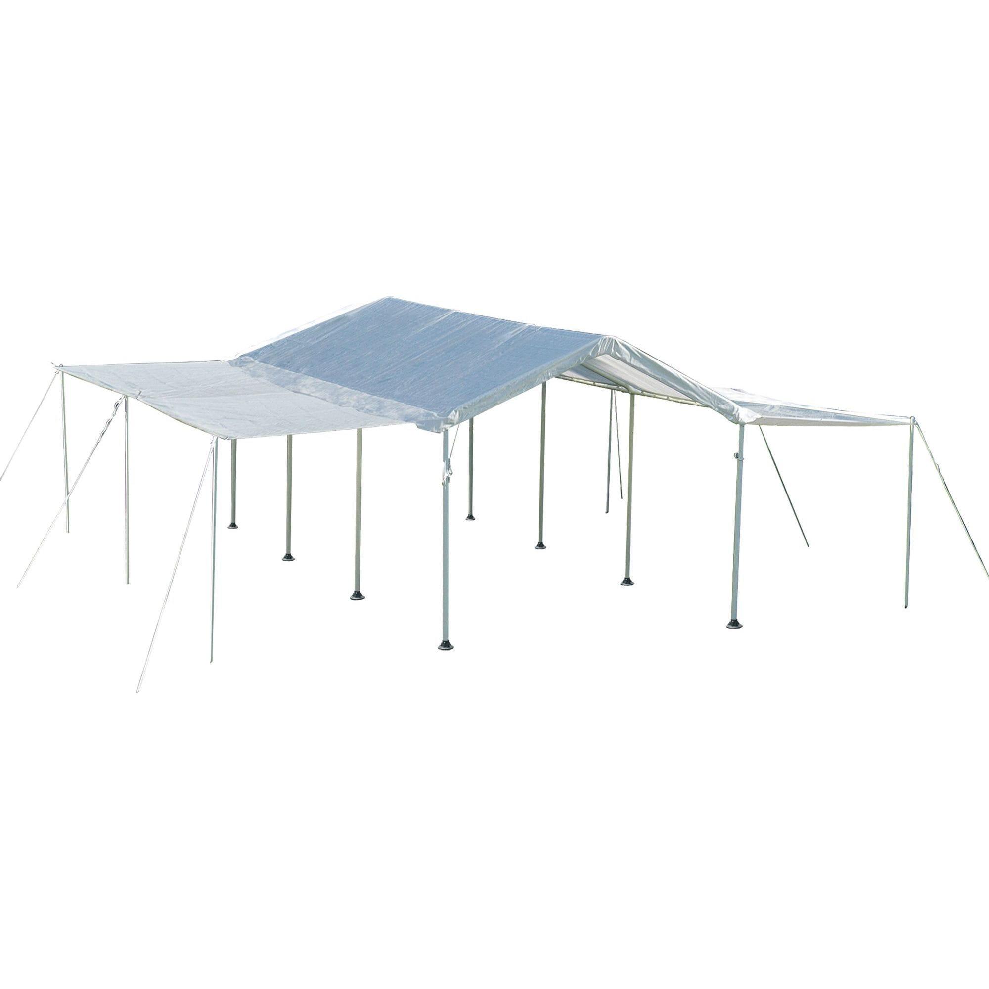 ShelterLogic 10 x 20ft. White Canopy Extension Sidewall K...