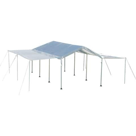 ShelterLogic 10 x 20ft. White Canopy Extension Sidewall Kit