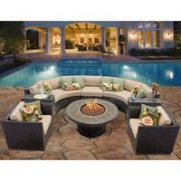 Barbados 8 Piece Outdoor Wicker Patio Furniture Set 08f
