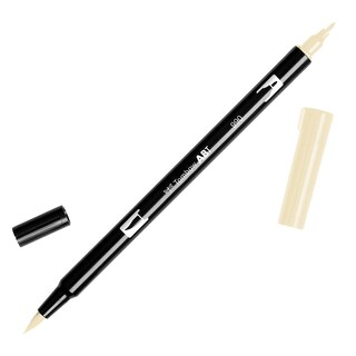 Tombow Dual Brush Marker Open Stock-990 Light Sand