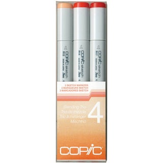Copic Sketch Blending Trio Markers 3/Pkg-Set 4