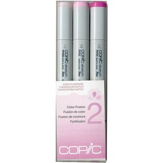 Copic Sketch Color Fusion Markers 3/Pkg-Set 2