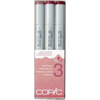 Copic Sketch Color Fusion Markers 3/Pkg-Set 3