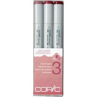 Copic Sketch Color Fusion Markers 3/Pkg-Set 3