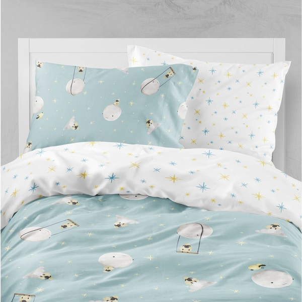 Oliver Gal Signature Collection Sheep & Moon Duvet
