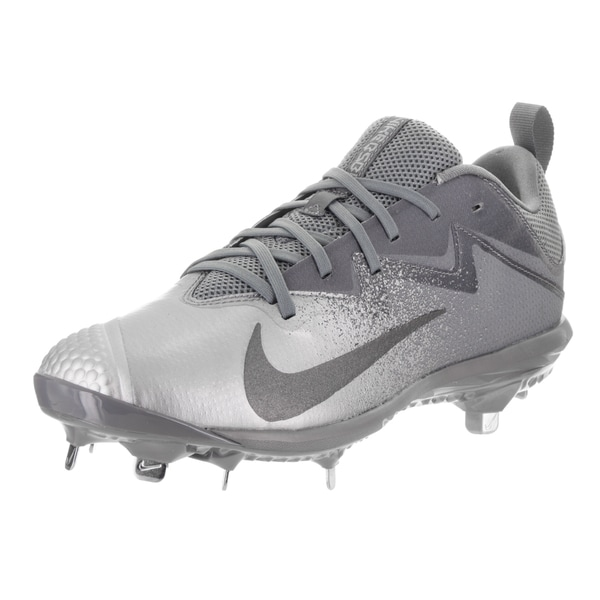 a2a564605 Nike Men's Lunar Vapor Ultrafly Pro Grey Textile Baseball Cleats