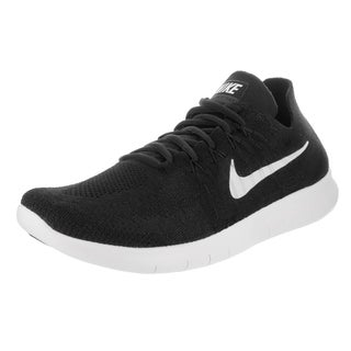 Nike Men's Black Free Run Flyknit 2017 Running Shoe