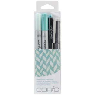 Copic Doodle Pack-Turquoise