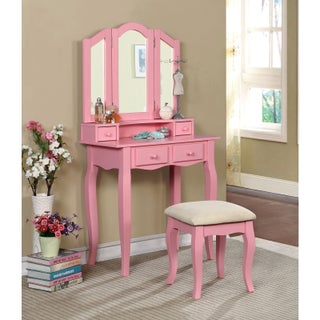 Bella Vanity Set with Mirror