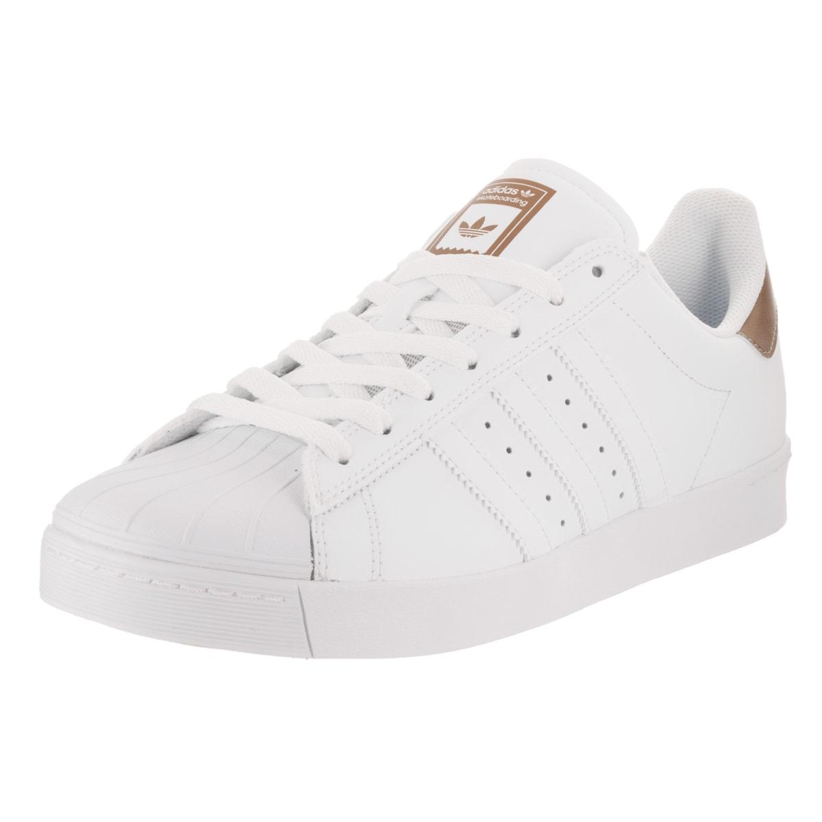 Adidas Men's Superstar Vulc Adv Skate Shoe (10.5), White ...