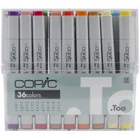 Copic Original Markers 36pc Set-Basic