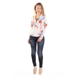 Xehar Women's Casual Business Floral Print Lightweight Blazer|https://ak1.ostkcdn.com/images/products/15269460/P21740006.jpg?impolicy=medium