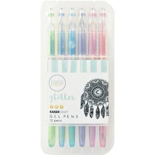 KaiserColour Gel Pens 12/Pkg-Glitter