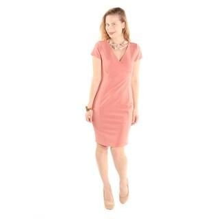 Xehar Women's Casual Sexy V-Neck Sheath Dress