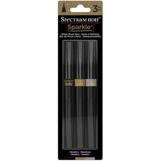 Spectrum Noir Sparkle Markers 3/Pkg-Metallics