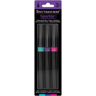 Spectrum Noir Sparkle Markers 3/Pkg-Glitz & Glamour