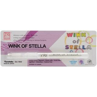 Zig Memory System Wink Of Stella Glitter Marker (Packaged)-Glitter Clear