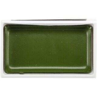 Kuretake Gansai Tambi Single Color Pan 5/Pkg-Olive Green
