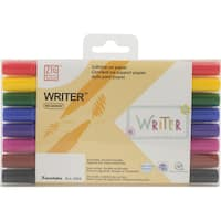 Zig Memory System Writer Dual-Tip Markers 8/Pkg-