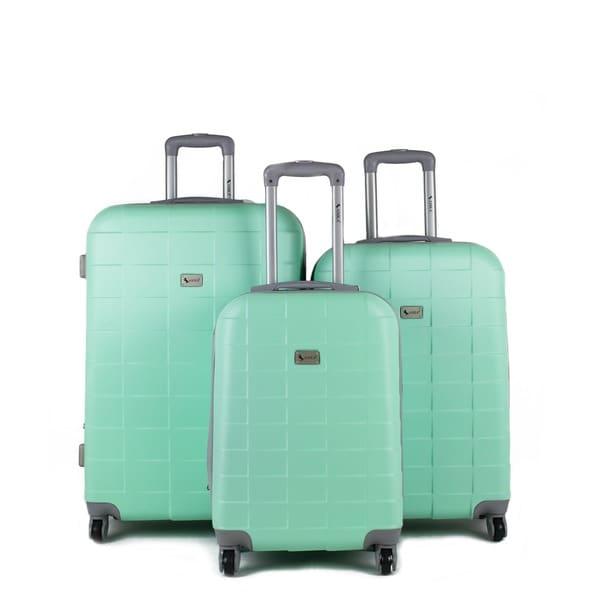 Shop AMKA Palette Hardside Spinner 3-piece Luggage Set - Free ... 555bb6dad8