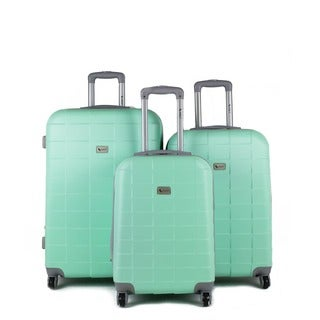 Amka Palette Hardside Spinner 3 Piece Luggage Set Free
