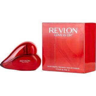 Revlon Love Is On Women's 1.7-ounce Eau de Toilette Spray