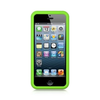 Insten Soft Silicone Skin Rubber Case Cover For Apple iPhone 5/ 5S