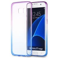 Insten TPU Rubber Candy Skin Case Cover For Samsung Galaxy S7 Edge