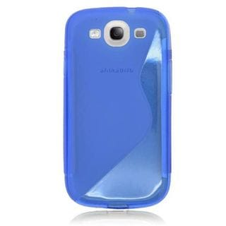 Insten Clear TPU Rubber Candy Skin Case Cover For Samsung Galaxy S3 GT-i9300