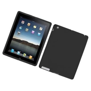 Insten Silicone Skin Gel Rubber Case Cover For Apple iPad 2/ 3/ 4 with Retina display