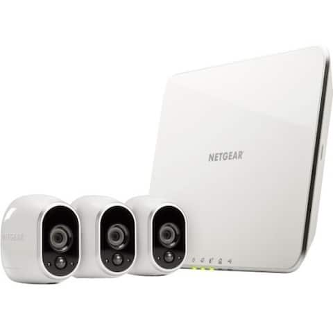 Arlo Security System with 3 HD Cameras (VMS3330)