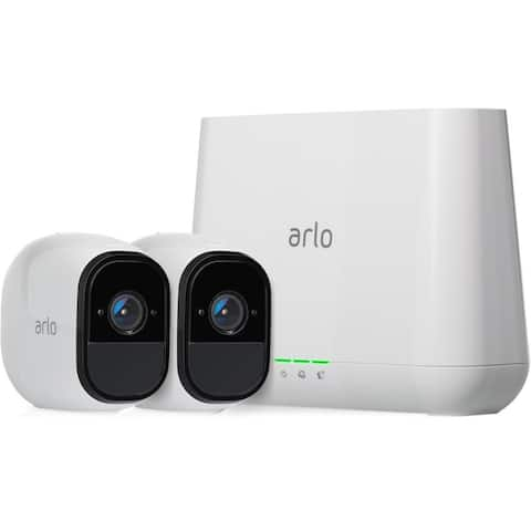 Arlo Pro Smart Security System with 2 Cameras (VMS4230)