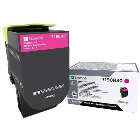 Lexmark Unison Toner Cartridge - Magenta