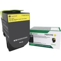 Lexmark Toner Cartridge - Yellow