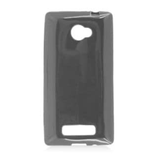 Insten Black TPU Rubber Candy Skin Case Cover For HTC Windows Phone 8X