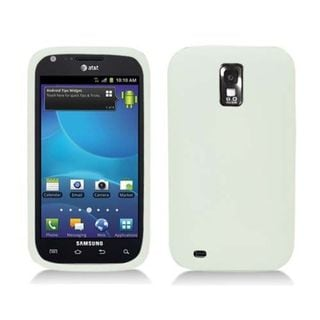 Insten Clear Soft Silicone Skin Rubber Case Cover For Samsung Galaxy S2 Hercules T989 T-Mobile