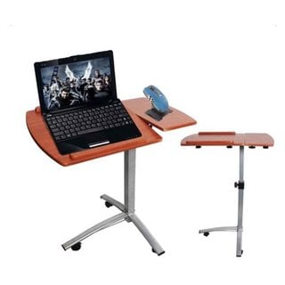 Home Use Multifunctional Lifting Computer Desk Brown