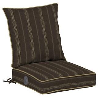 Bombay® Outdoors Trevor Stripe Espresso Adjustable Comfort Dining Seat Set