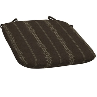 Bombay® Outdoors Trevor Stripe Espresso Bistro Cushion