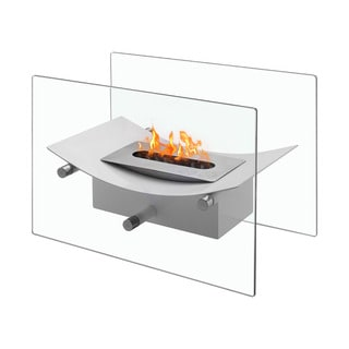 Ignis Verona White Tabletop Ventless Ethanol Fireplace