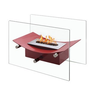 Ignis Verona Red Tabletop Ventless Ethanol Fireplace