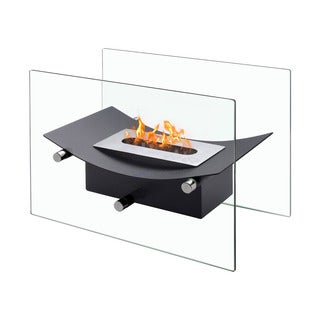 Ignis Verona Black Tabletop Ventless Ethanol Fireplace
