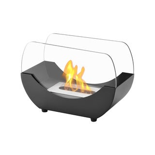Ignis Liberty Black Tabletop Ventless Ethanol Fireplace