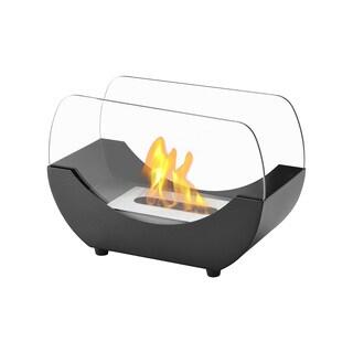 Ignis Liberty Black Tabletop Ventless Ethanol Fireplace