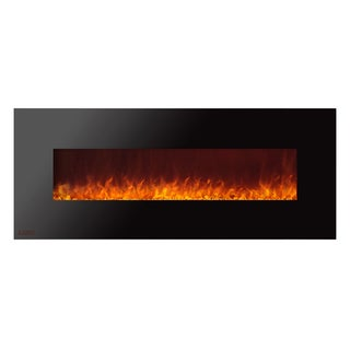 Ignis Royal 60 inch Electric Fireplace with Crystals