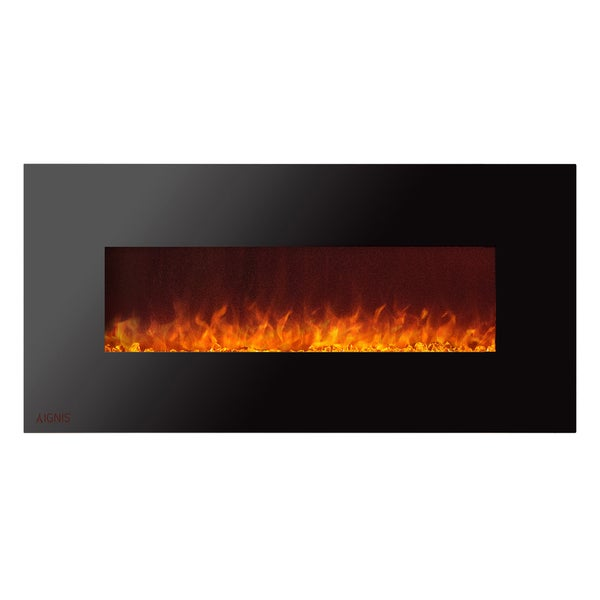 Ignis Royal 50 inch Electric Fireplace with Crystals