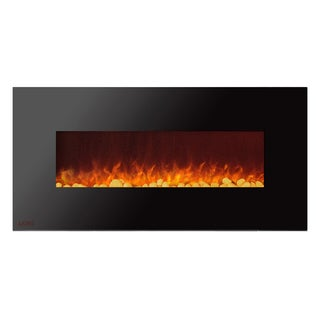 Ignis Royal 50 inch Electric Fireplace with Pebbles