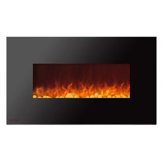 Ignis Royal 36 inch Electric Fireplace with Pebbles
